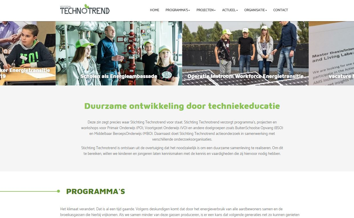 screen Stichting Technotrend