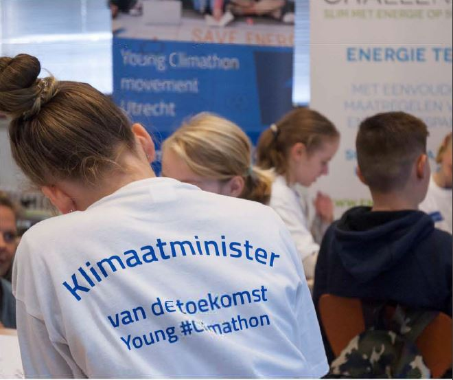 Young Climathon klimaatminister